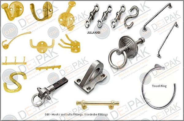 DBI Hooks and Wardrobe Fittings